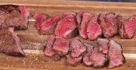 steak de chevreuil au barbecue